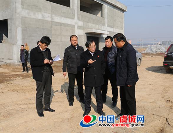 程惠建督导全县重点项目建设情